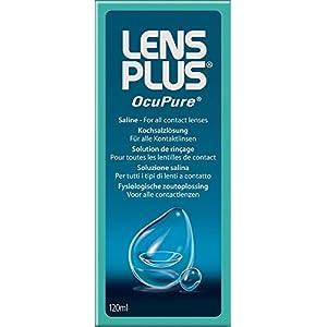 Lens Plus OcuPure Saline Kontaktlinsen Kit