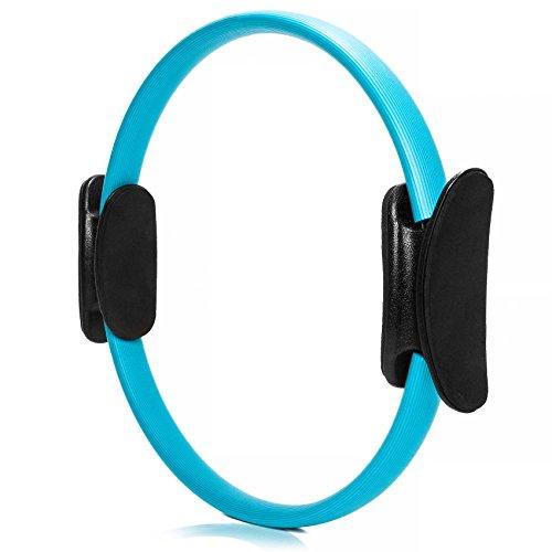 Pilates Ring »Loop« für effektive Piltates-Übungen und gezieltes Kräftigungstraining der Oberkörper-, Arm- und Beinmuskulatur, blau (Oberkörper-trainingsgerät)