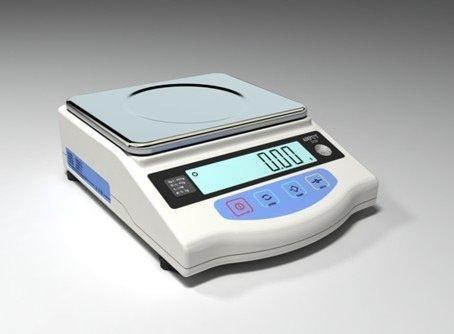 mancelboutique Offerta di Lancio Bilancia Alta precisione Laboratorio Farmacia bigiotteria carati–Bilancia CONTAPEZZI al Centesimo di Grammo 2000g x 0,01g