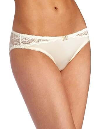 HotMilk Luminous Brief Low Rise Women's Maternity Bikini, Champagne, Large