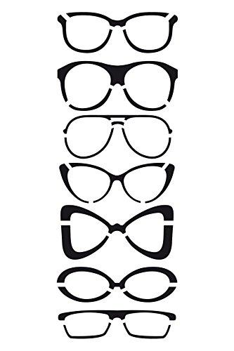 artemio-10-x-15-cm-glasses-stencil