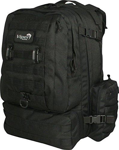 Viper Tactical Mission Pack Rucksack schwarz - schwarz