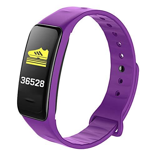 Multifunktionale wasserdichte Pedometer intelligente Sport-Armband-Druck-Herzfrequenz-Überwachungsuhr