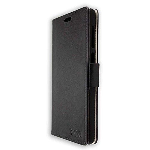 caseroxx Tasche Case Hülle Bookstyle-Case für Vernee Apollo Lite in schwarz