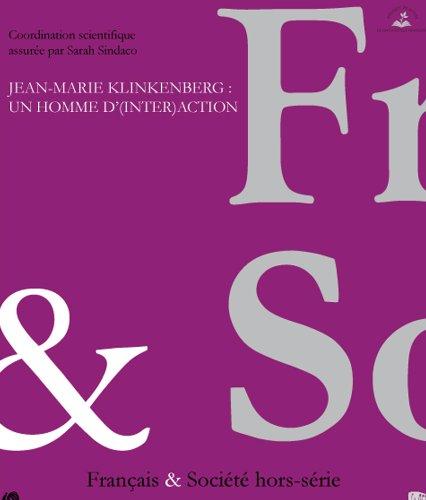 Jean Marie Klinkenberg : un homme d'(inter)action