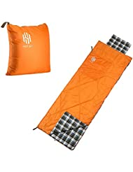 Hot Cielo Busta Sacco a pelo all' aperto, campeggio, viaggi e trekking hsd998, Orange