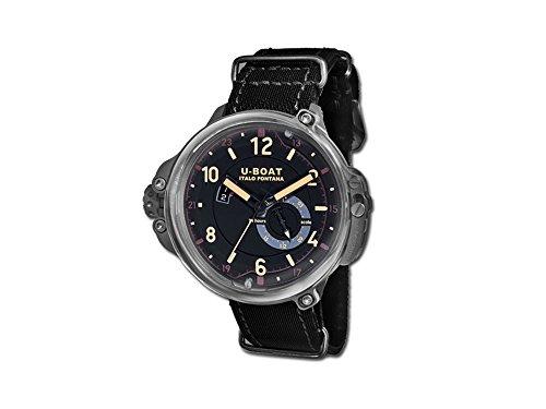 Reloj Automático U-Boat Capsule, Titanio, 50mm, Edición Limitada, 8189