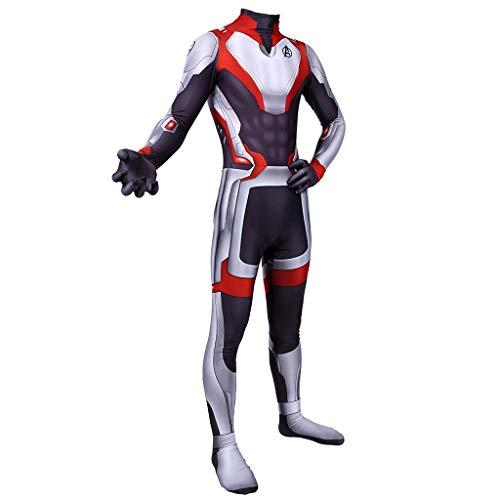 Preisvergleich Produktbild TOYSGAMES Marvel Quantum Warfare Kleidung Erwachsene Rollenspiele Lycra Elastische Strumpfhosen Movie Stage Requisiten Requisiten (Farbe : Rot,  größe : XXXL)