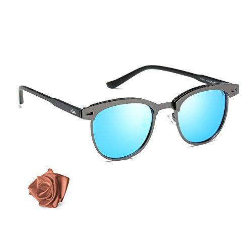 Les lunettes de soleil daviateur classiques de Bailii polarisées pour des hommes de femmes avec la protection UV400, bloquant 100% X1eIsGIM6gs