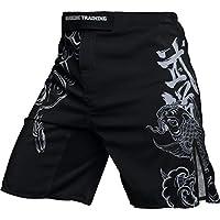 Hardcore Training Koi Fight Shorts Hombre Pantalones Cortos MMA BJJ Boxeo Grappling Fitness No Gi