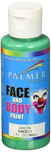 Palmer Gesicht und Körper Malen 60Grün (Malen Palmer Gesicht)