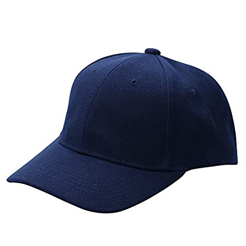Greatlizard Cotton Cap Baseball Caps Hat Adjustable Polo-Style Washed Plain Solid Visor Caps