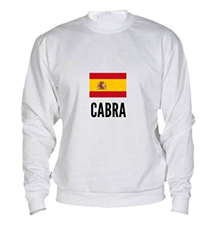 Felpa Cabra city White