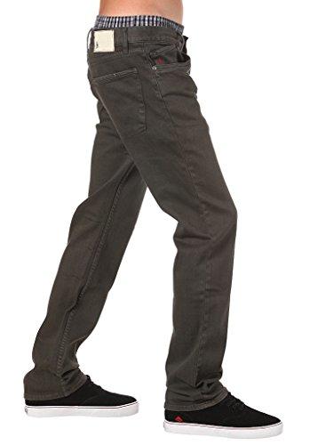 Pantalon jean Altamont WILSHIRE Overdye Jeans gris foncé