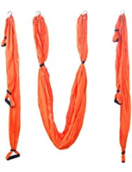 Seasofbeauty Yoga Hängematte Fitness Anti-Schwerkraft Lufthängematte Übung Yoga Swing 250cm x 150cm