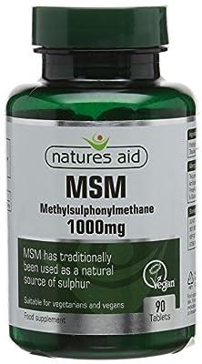 MSM (Methylsulphonylmethane) 1000mg from NAVX2