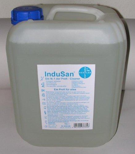 Indusan Profireinger 10 L Kanister - (Grundpreis je 1l EUR 7,19) -
