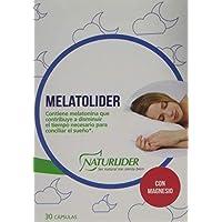 Naturlíder Melatolíder - Complemento Alimenticio con Melatonina 1mg, ...