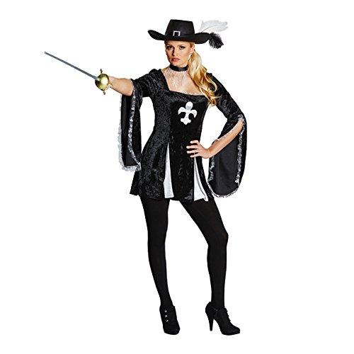NEU Damen-Kostüm, Lady Musketier, Tunika, Gr. 46