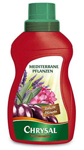 Chrysal Flüssigdünger für Mediterrane Pflanzen, NPK-Düngerlösung 5+3+7, 500 ml