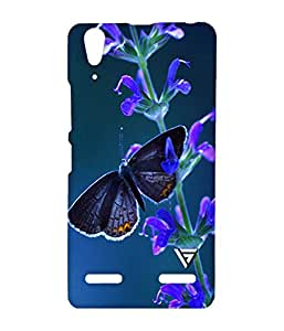 Vogueshell Nature Printed Symmetry PRO Series Hard Back Case for Lenovo A6000