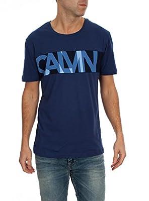 Calvin Klein Jeans Men's Tiglet Cn Tee S/s T-Shirt