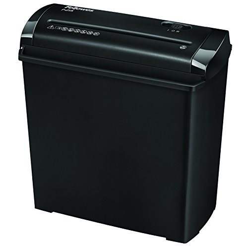 Fellowes Powershred P-25S Destructeur de Documents Individuel 5 Feuilles Coupe Droite