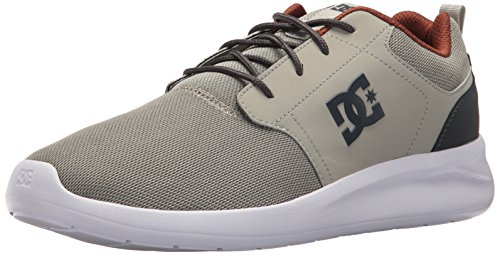DC - Dc - Männer Midway Sn Lowtop Schuh Grey/Charcoal