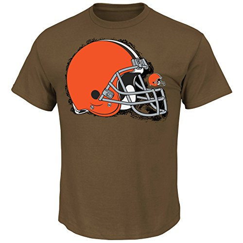 NFL T-Shirt Line-to-Gain CLEVELAND BROWNS in XL (X-LARGE)