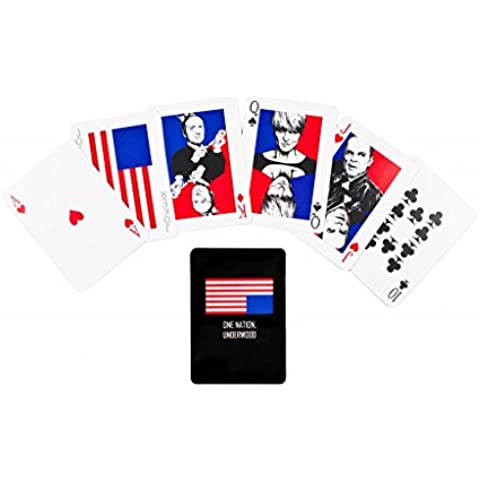 Mazzo di carte da gioco ispirato alla serie House of Cards - Gli intrighi del potere / Deck of Playing Cards inspired by House of Cards