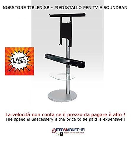 NorStone TIBLEN SB Version B–Pied pour TV et barre de son