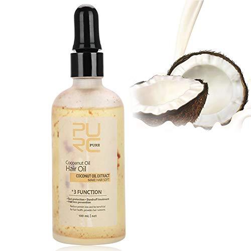 Kokosöl für Haare, Sonnenschutz, Strand für die Pflege von Haaren, Kokosöl 100 ml