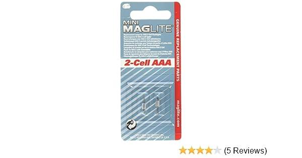 2-er Pack MagLite LM3A001U Ersatzbirne f/ür Super Mini R3