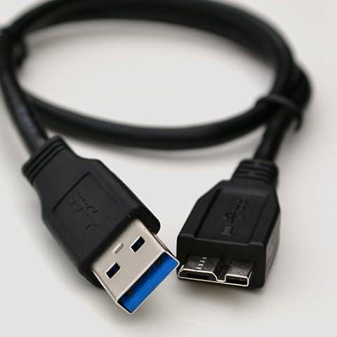 Für Externe Festplatte Seagate Expansion 1TB//0,50cm lang USB 3.0Kabel/für Datenübertragung Kabel führen