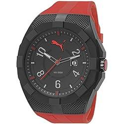 fe6b25271 Puma Iconic - Reloj análogico de cuarzo con correa de poliuretano para  hombre