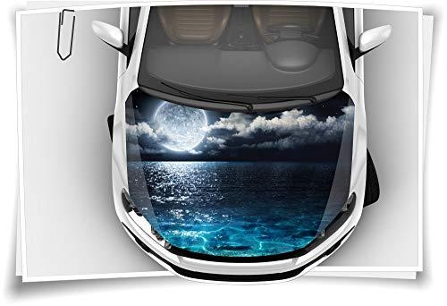 Medianlux Mond Meer Finsternis Motorhaube Aufkleber Autoaufkleber Airbrush RapidAir Tuning Carwrapping