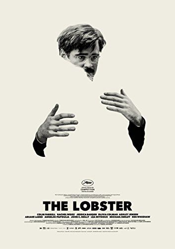 MBPOSTERS The Lobster 2015 Colin Farrell Poster, Film Plakat - Coole Film Poster