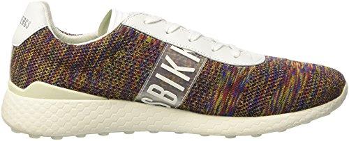 Bikkembergs Springer 012, Sneakers basses homme Nero (Black/silver)