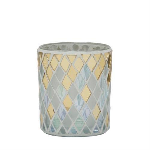 Yankee Candle Holiday Party 2016 Celebrate Mosaic Design Votive Holder 1521401