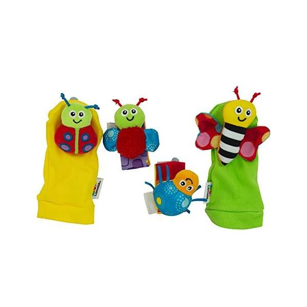 Lamaze Gardenbug Wrist Rattle Footfinder Baby Gift Set 3