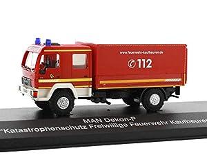 Rietze 68039Man Dekon-P protección Civil FW Kaufbeuren camión Modelo