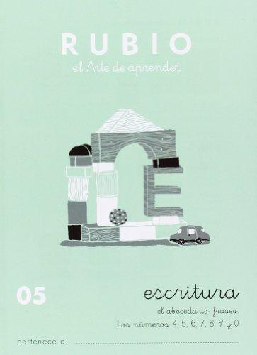 Cuadernos Rubio: Escritura 05 por Ramón Rubio Silvestre