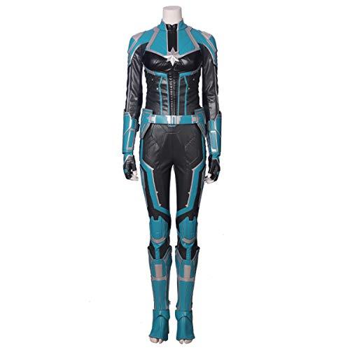 QWEASZER clothing Marvel Avengers Captain Marvel Kostüm