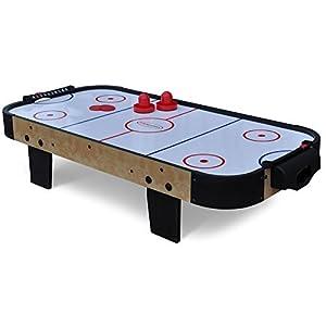 Gamesson Kids' 3' Buzz Air Hockey Table, White, Medium