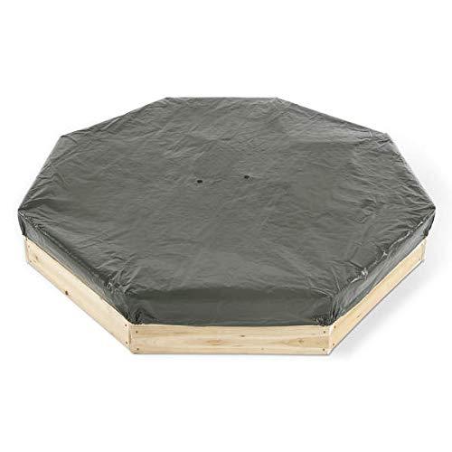 Plum Kinder gigantischer Sandkasten achteckig mit 4 Sitzbänken, 25058