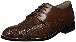 Clarks Mens Twinley Lace Tan Weave Leather Clogs and Mules - 8 UK/India (42 EU)