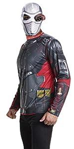 Suicide Squad - Disfraz de Deadshot para hombre, Talla única adulto (Rubie
