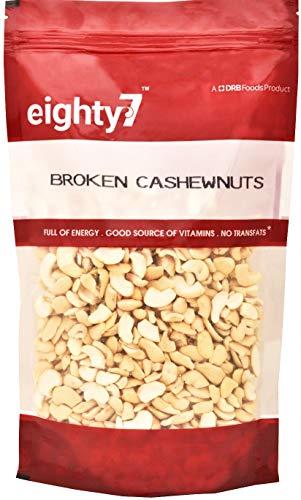 Eighty7 Broken Cashews|Cashews Nuts, 4 Piece, 1Kg