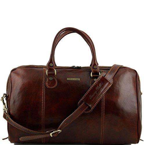 Tuscany Leather Parigi - Borsa da viaggio in pelle Marrone Borsoni in pelle viaggio