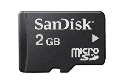 SanDisk Micro SD 2GB Class 2 Speicherkarte